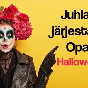 Halloween juhlat lapsille, digitaalinen juhlapaketti, opas